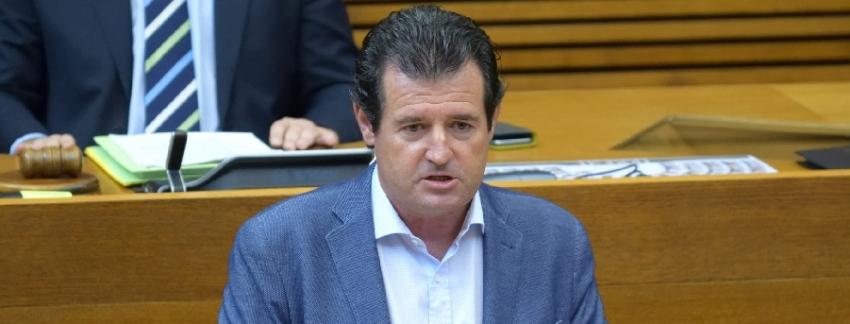 """Císcar señala que una enmienda del PP permite el """"apoyo unánime de Les Corts a las reivindicaciones de la agricultura valenciana y a nuestro modelo productivo"""""""