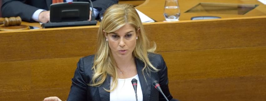 """Eva Ortiz: """"Echávarri debe presentar su dimisión como alcalde de Alicante de forma inmediata"""""""