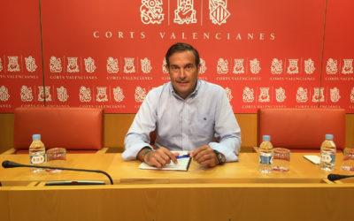 El PPCV pide que sea Les Corts quien regule los órganos de gobierno de Turismo en lugar de Colomer