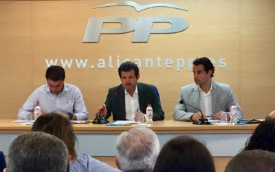 El PP inicia la elección de precandidatos y compromisarios del Congreso Nacional