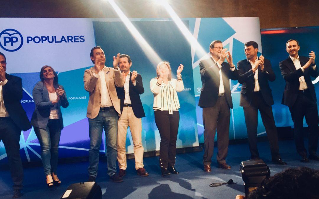 """Císcar: """"Rajoy pasará a la historia como el mejor presidente de la democracia en España desde Adolfo Suárez"""""""