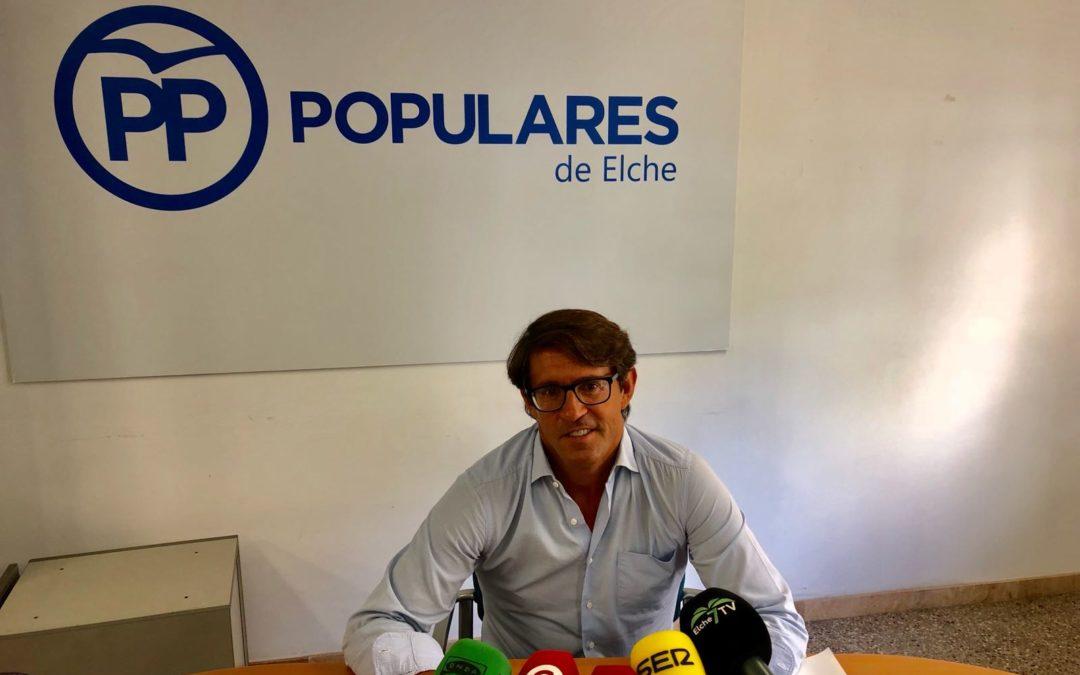 "Navarro: ""Elche es la gran olvidada por la Generalitat en materia educativa"""