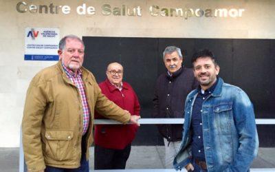 Zaplana critica la falta de mantenimiento del centro de salud Campoamor de Alicante