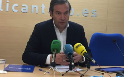 El PP cifra la infrafinanciación del Consell a la provincia de Alicante en 375 millones