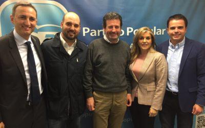 Raúl Dalmau, nuevo coordinador general del Partido Popular Provincia de Alicante