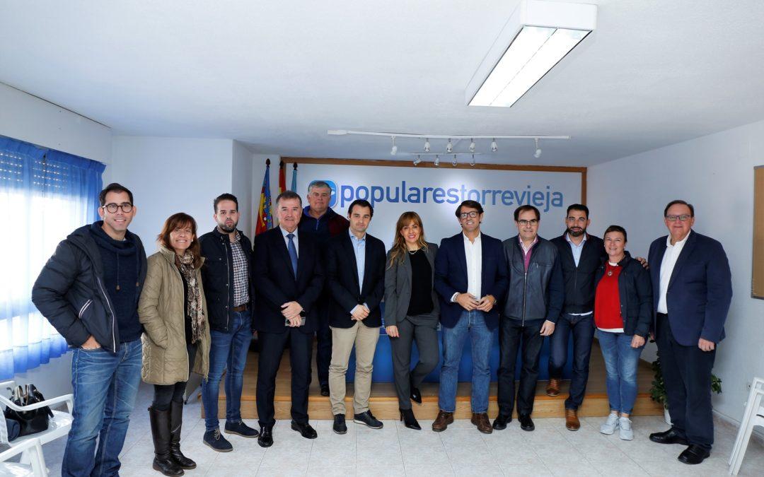 """El PP reprocha la """"discriminación  absoluta"""" del Consell a la Vega Baja"""