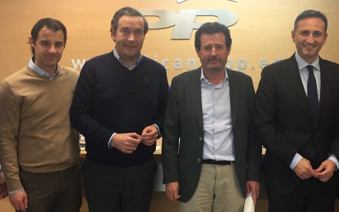 """Pepe Císcar: """"El triunfo de Casado el 28 de abril será la antesala de la victoria en las municipales y autonómicas de mayo"""""""