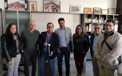 """Agustín Almodóbar: """"El PP apuesta por facilitar la creación de una marca de calidad para el aceite de oliva del Comtat"""""""