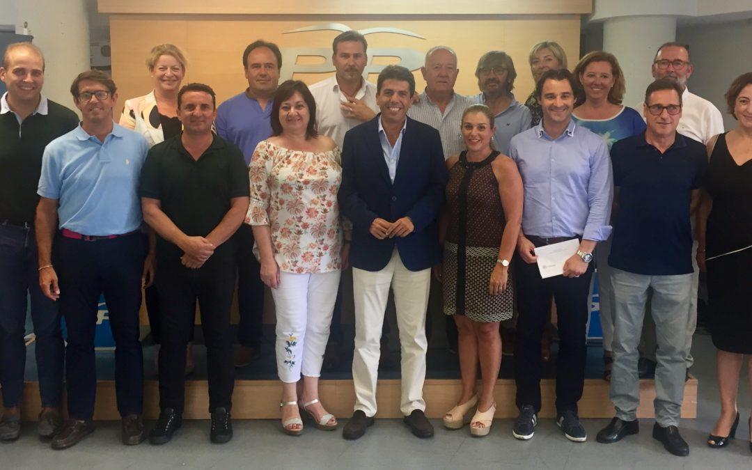 El Partido Popular de Alicante aprueba las candidaturas a diputados provinciales