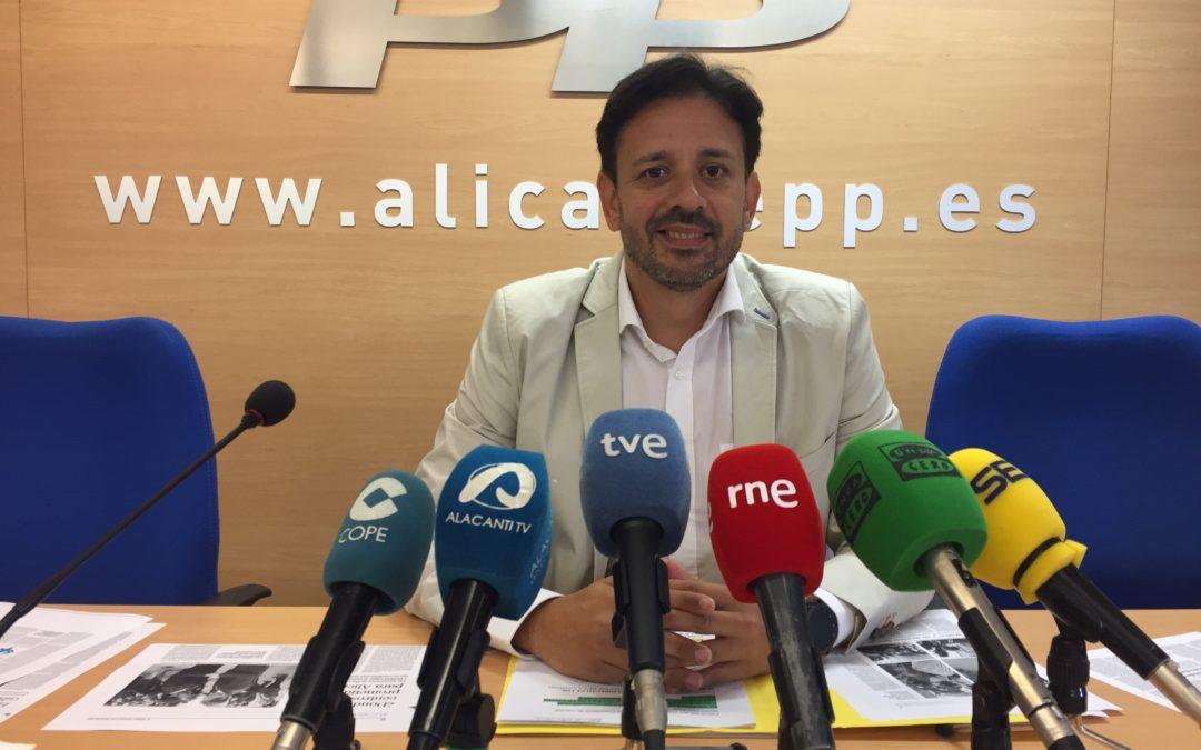 El PP exigirá en las Cortes los centros de salud pendientes en Alicante