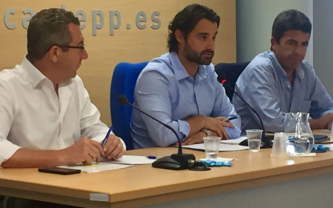 El PP se moviliza ante el acto de Pablo Casado el próximo domingo en Benidorm
