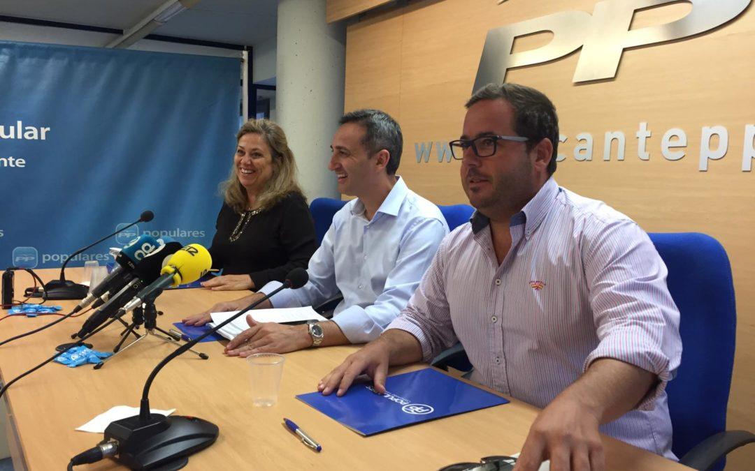 El PP acusa al Gobierno de Sánchez de poner en riesgo la sanidad y la educa-ción