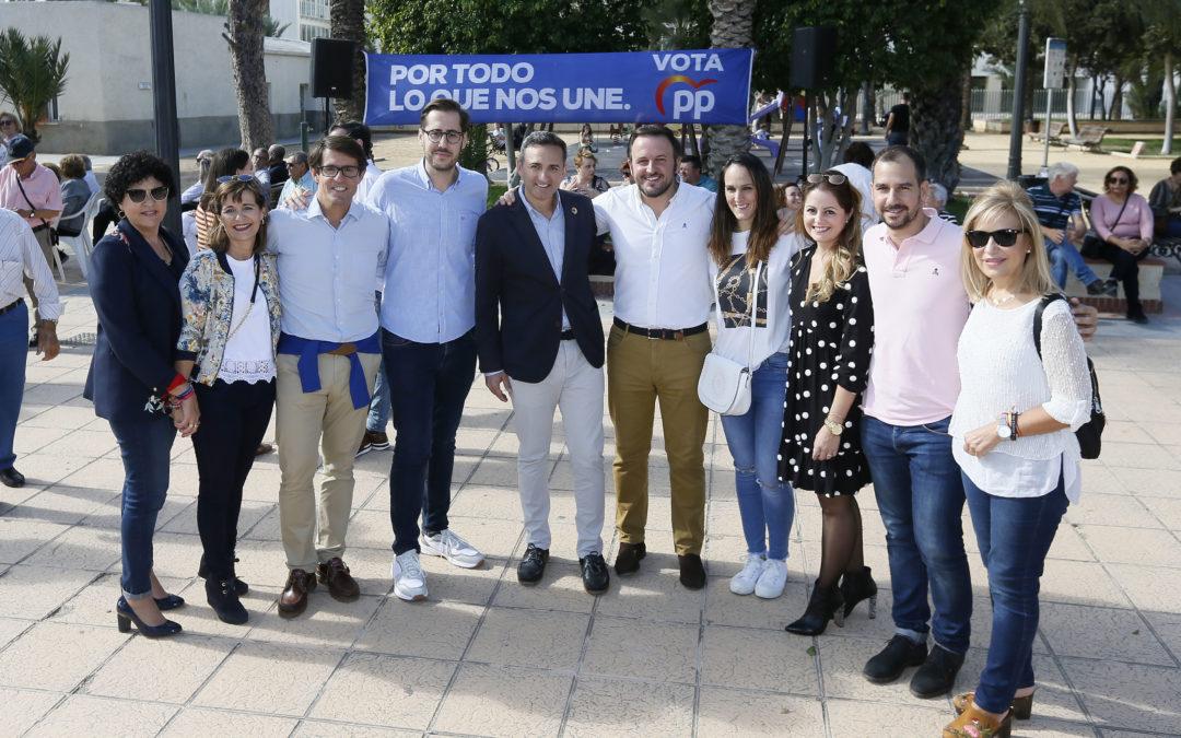 """El PP reivindica el agua y la agricultura como """"valores fundacionales"""" de la provincia"""