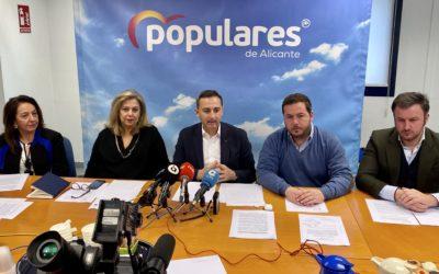 El PP lidera una batería de iniciativas políticas en defensa del Tajo-Segura