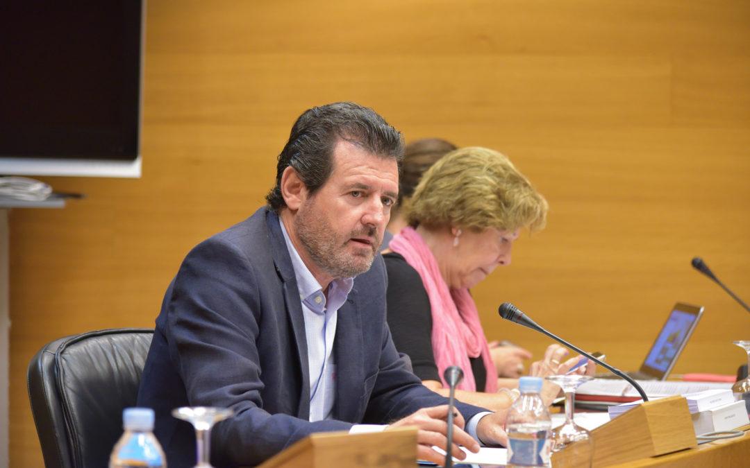 Les Corts piden al Gobierno que dé entrada al Sindicato de Regantes del Tajo-Segura en la comisión de explotación del trasvase