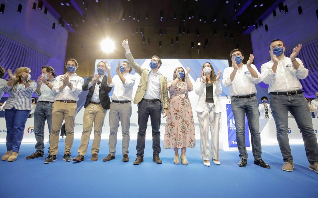 """Mazón inicia su proyecto de """"puertas abiertas"""" para el Partido Popular de la provincia de Alicante"""