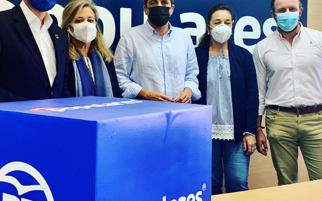 """Ruz: """"El PSPV condena el futuro de la provincia de Alican-te con la postración de sus senadores a sus jefes de Madrid"""""""