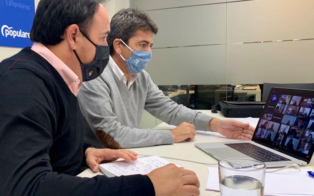 El PP de la Provincia de Alicante aplaza la primera fase de sus asambleas locales por las medidas de restricción ante la COVID