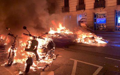 El PP de la Provincia de Alicante ve una irresponsabilidad que miembros del Consell estén alentando las protestas violentas radicales y sin medidas sanitarias
