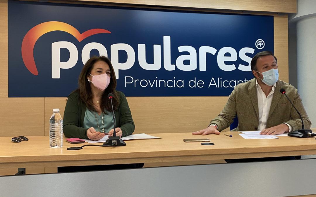 El Partido Popular de la Provincia de Alicante exige a Sánchez que incluya al calzado entre las ayudas que destinará a los sectores más afectados por el COVID-19