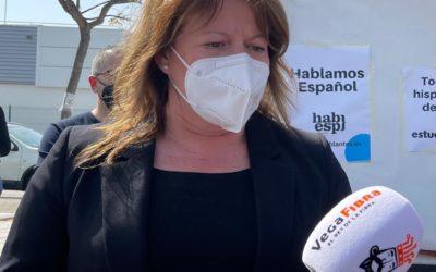 """Ana Serna: """"Puig sí tiene tiempo para venir a Alicante a ver si se arregla con Podemos, pero no para crear empleo en la provincia"""""""