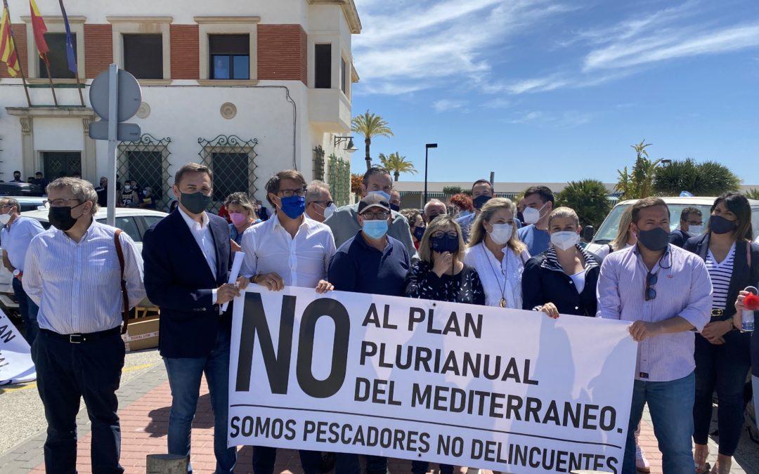 El PP de la Provincia de Alicante muestra su apoyo al sector pesquero.