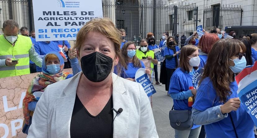 """Ana Serna: """"La única guerra del agua que existe, es entre el PSOE de Sánchez y el de Ximo Puig."""""""