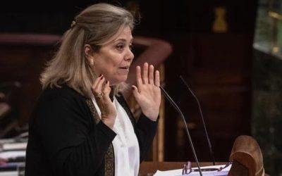 """La diputada Macarena Montesinos pregunta a la nueva ministra de Transportes por su compromiso con las infraestructuras de la provincia tras la """"ineficaz"""" gestión de Ábalos"""